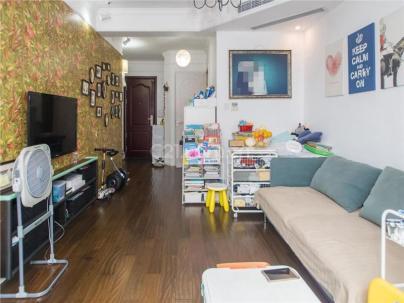 中环国际公寓一期 2室 2厅 83.12平米