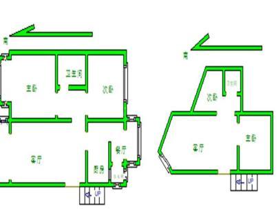 腾龙家园二区 2室 2厅 92.51平米