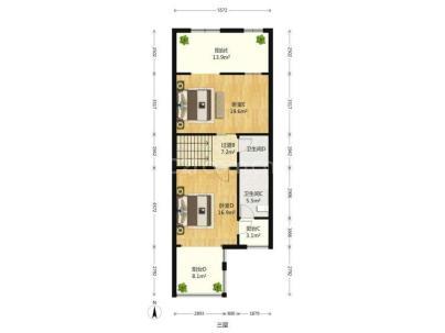 天鹅堡 6室 2厅 235.72平米