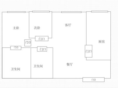 星悦国际 3室 2厅 112平米