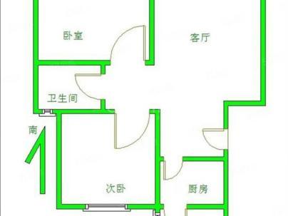 北京城建琨廷 2室 2厅 90.44平米