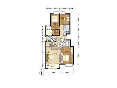 美景东方 3室 2厅 146平米