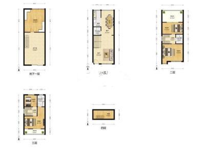 听涛雅苑 4室 2厅 226平米