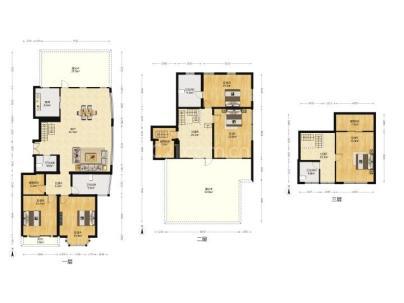 山水文园一期、二期(中园) 5室 3厅 253.81平米