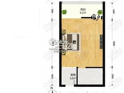 长安6号 1室 1厅 106.43平米