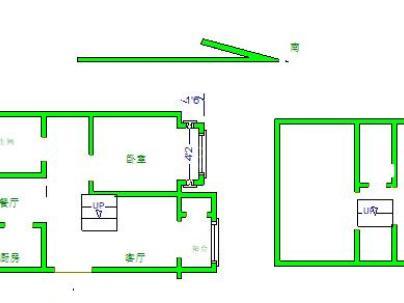 腾龙家园一区 2室 1厅 91.99平米