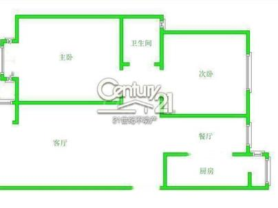 腾龙家园一区 2室 2厅 94.92平米
