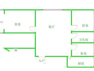 阳光希望三期 3室 2厅 102平米
