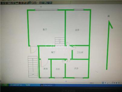 向阳地税小区 3室 2厅 134.99平米