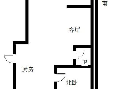 木兰二期 2室 2厅 64.23平米