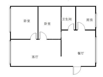 川鄂中路105号 2室 2厅 75.08平米