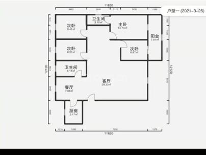 春光花园 4室 2厅 159.16平米