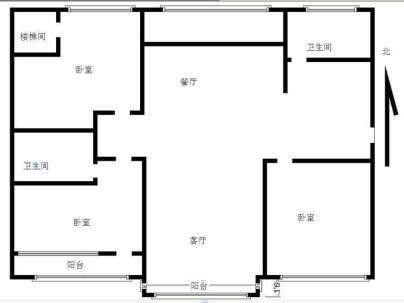 贵和园南区 3室 2厅 220平米