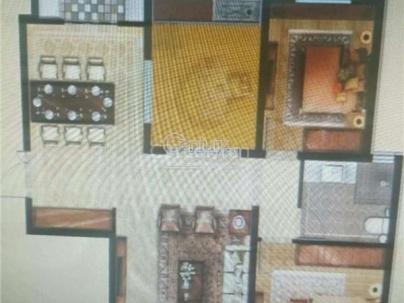 万达华府A 3室 2厅 118平米