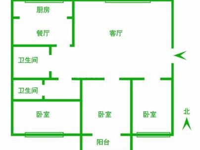 天成首府 3室 2厅 147平米