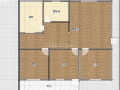 舜耕教师公寓 3室 1厅 100平米