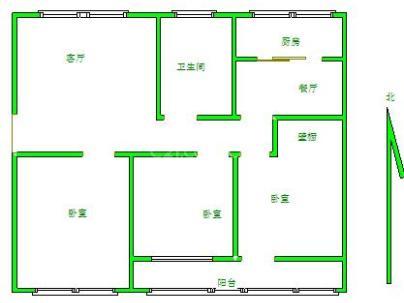 建筑公司东生活区(西院) 3室 2厅 168平米