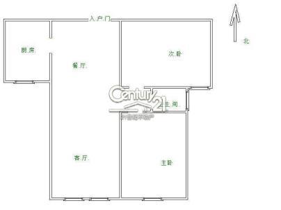 山水倾城一期 2室 2厅 90平米
