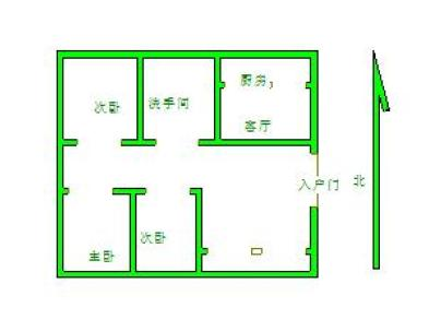东方明珠 3室 2厅 102.05平米