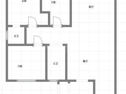 金地天马新城 3室 2厅 133.74平米