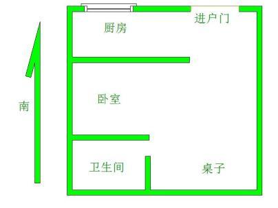 银杏新村 1室 1厅 30平米