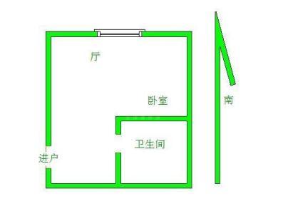 国庆中路 1室 1厅 30平米