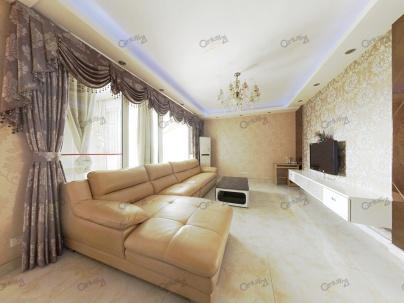 比华利国际城一期 3室 2厅 90.67平米